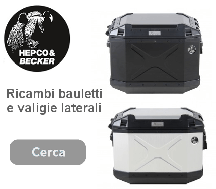 Accessori moto Hepco & Becker bauletto e valigie laterali