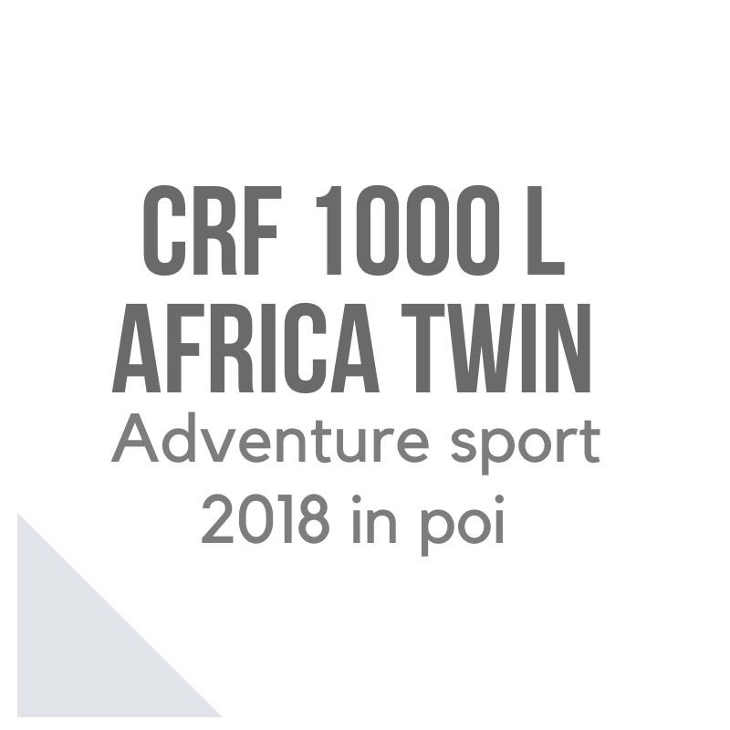Honda CRF 1000 L Africa Twin Adventure Sport