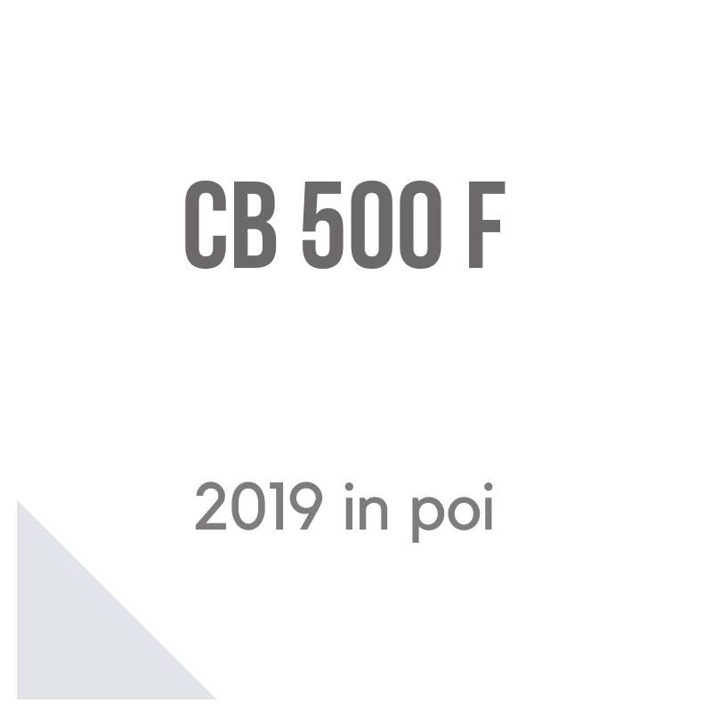 Honda CB500F 2019 accessori givi, shad e puig