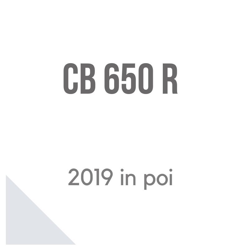 Honda CB 650 R 2019