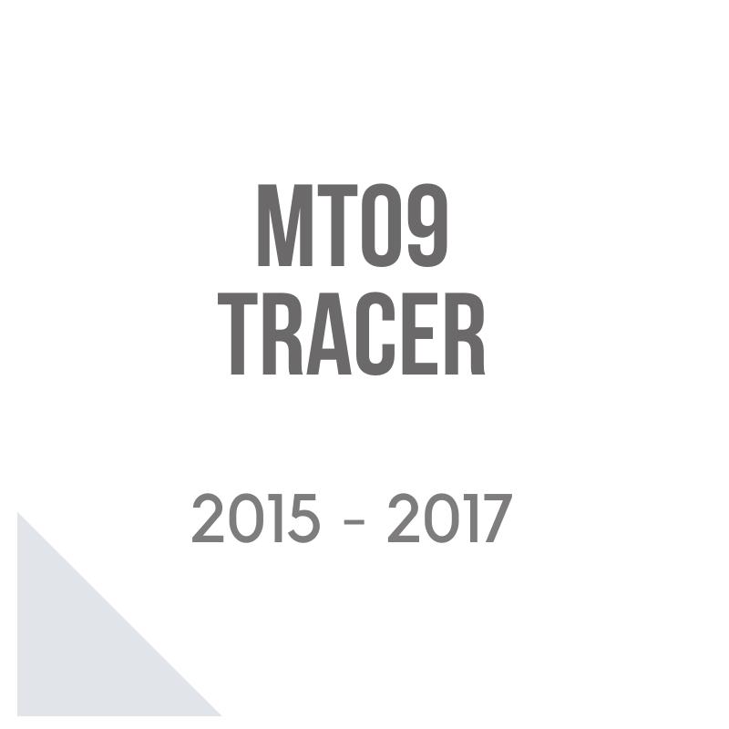 Tracer MT-09 bauletto givi, cupolino Isotta e porta valigie laterali Shda