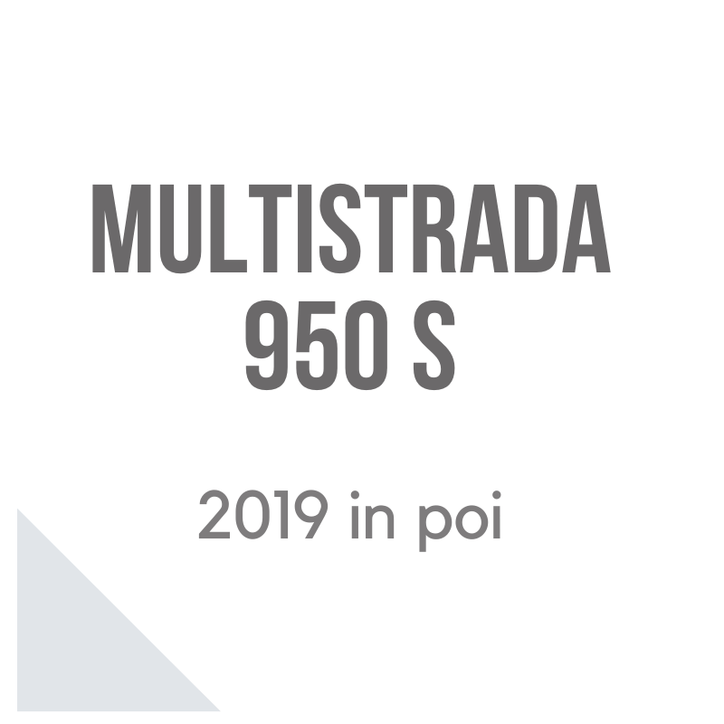 Multistrada 950 S 2019 accessori