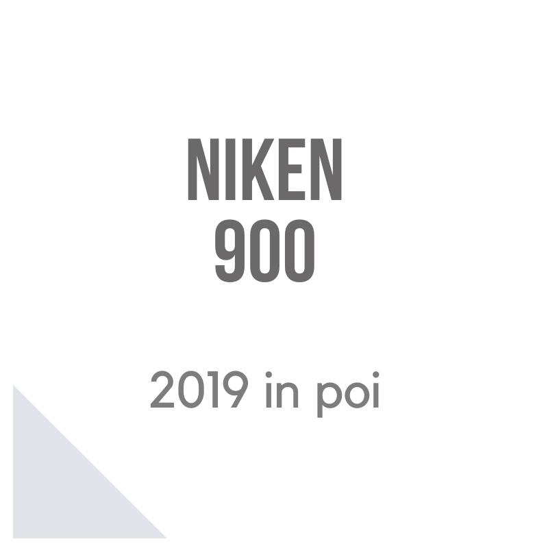 Niken 900 bauletto givi cupolino Puig e valigie laterali Shad