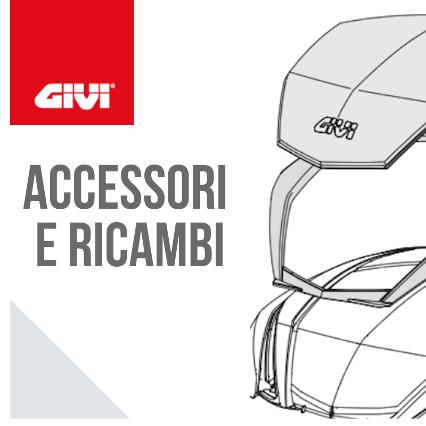 Bauletto, valigie laterali e accessori moto a marchio Givi