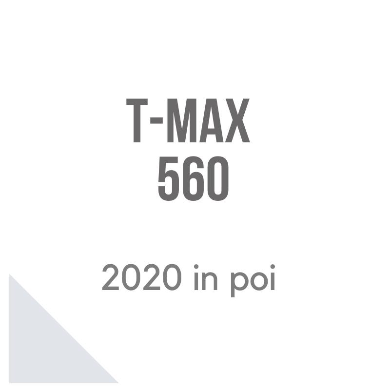 T-Max 560 bauletto, borse laterali e cupolino