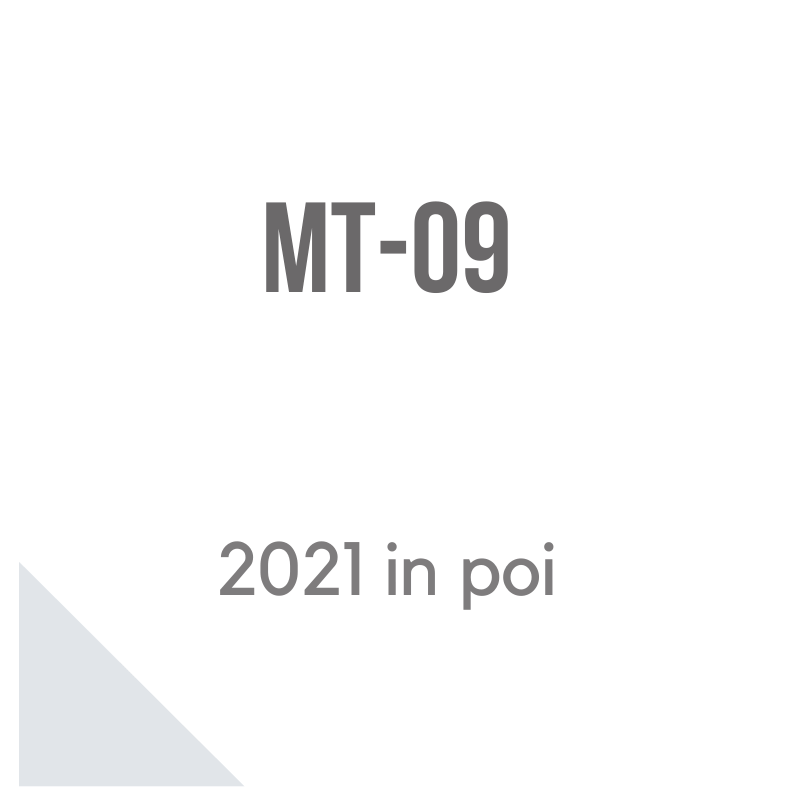 MT-09 dal 2021 accessori moto